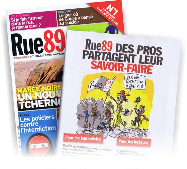 """na! dans """"Rue89 """" version papier"""
