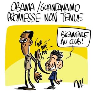 Nactualités : Obama/guantanamo, promesse non tenue