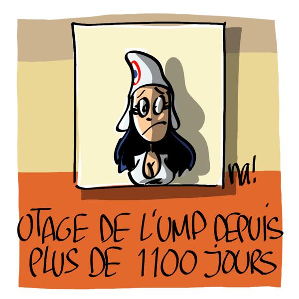 Nactualités : Otage depuis plus de 1100 jours…
