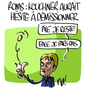 Nactualités : Roms, Bernard Kouchner aurait hésité à démissionner