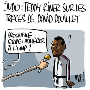 Nactualités : Judo, Teddy Riner sur les traces de David Douillet