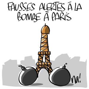 Nactualités : fausses alertes à la bombe à Paris