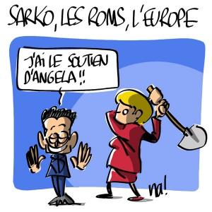 Nactualités : Sarko, les roms, l'Europe
