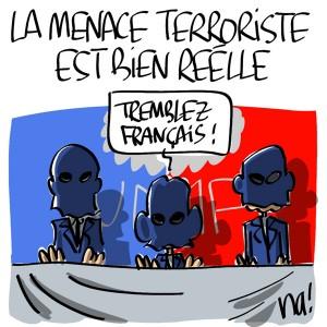 Nactualités : la menace terroriste est bien réelle