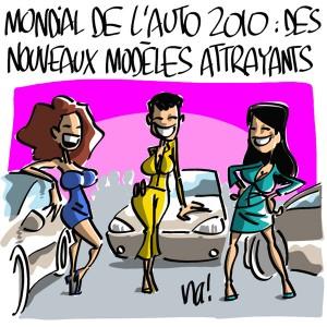 Nactualités : Mondial de l'auto 2010, des nouveaux modèles attrayants !
