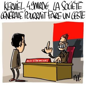 Nactualités : Kerviel, 4.9Mrds €, la Société Générale pourrait faire un geste…