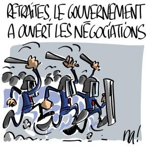 Nactualités : retraites, le gouvernement a ouvert les négociations