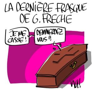 Nactualités : la dernière frasque de Georges Frêche