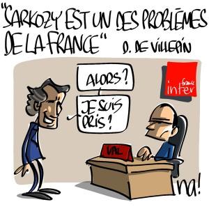 Nactualités : «Sarkozy est un des problèmes de la France» Dominique de Villepin