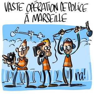 Nactualités : vaste opération de police à Marseille