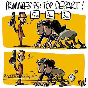 Nactualités : primaires PS, top départ !