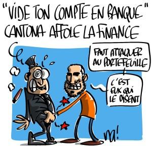 Nactualités : «vide ton compte en banque» Eric Cantona affole la finance !