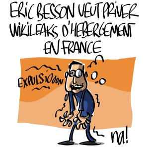 Nactualités : Eric Besson veut priver Wikileaks d'hébergement en France
