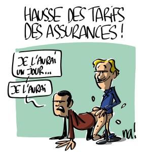 Nactualités : hausse des tarifs des assurances !
