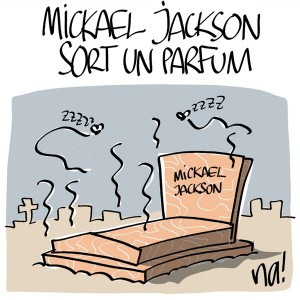 Nactualités : Michael Jackson sort un parfum…