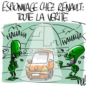 Nactualités : espionnage chez Renault, toute la vérité