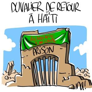 Nactualités : Duvalier de retour à Haïti