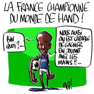 Nactualités : la France championne du monde de Hand !