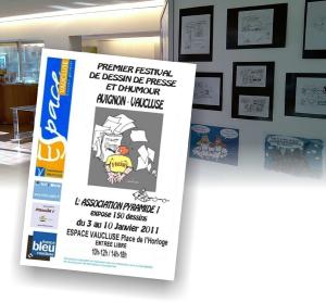 Expo de dessins de presse et d'humour à Avignon du 3 au 10 janvier 2011