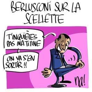 Nactualités : Berlusconi sur la sellette