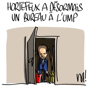 Nactualités : Brice Hortefeux a désormais un bureau à l'UMP