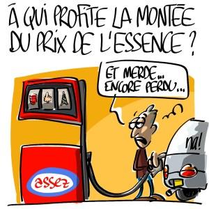 Nactualités : à qui profite la montée du prix de l'essence ?