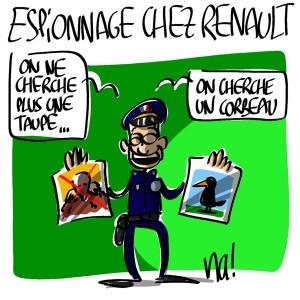 Nactualités : Espionnage, y a-t-il un flic pour sauver Renault ?