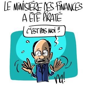 Nactualités : le Ministère des Finances a été piraté