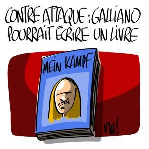 Nactualités : Contre attaque, Galliano pourrait écrire un livre