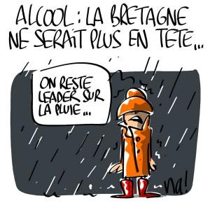 Nactualités : Alcool, la Bretagne ne serait plus en tête…