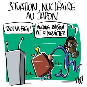 Nactualités : Situation nucléaire au Japon