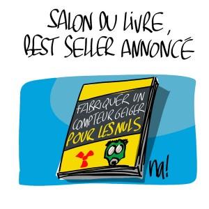 Nactualités : Salon du Livre, Best-Seller annoncé