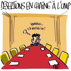 Nactualités : Désertions en chaîne à l'UMP…