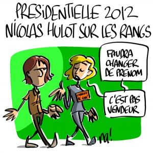 Nactualités : Présidentielle 2012, Nicolas Hulot sur les rangs