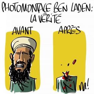 Nactualités : photomontage Ben Laden, la vérité