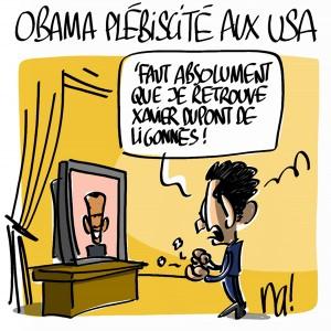 Nactualités : Obama plébiscité aux USA