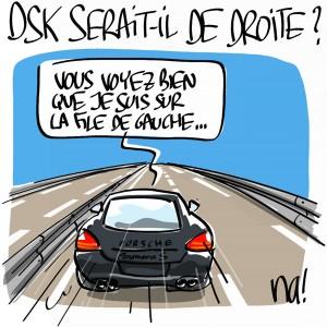 Nactualités : DSK serait-il de droite ?