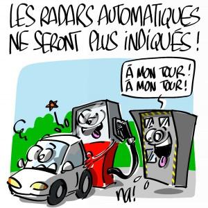 Nactualités : les radars automatiques ne seront plus indiqués !