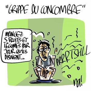 Nactualités : «grippe du concombre»