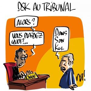 Nactualités : DSK au tribunal