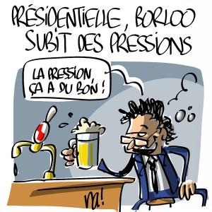 Nactualités : présidentielle 2012, Borloo subit des pressions