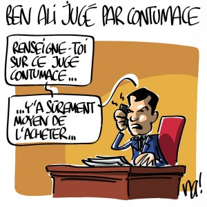 Nactualités : Ben Ali jugé par contumace