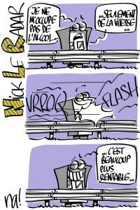 Nactualités : «nick le radar» (série BD #2)