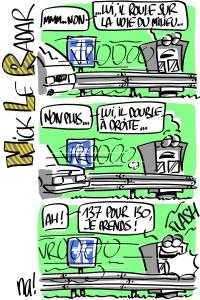 Nactualités : «nick le radar» (série BD #3)