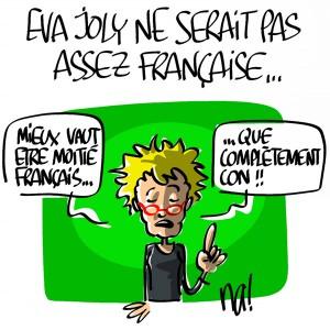 Nactualités : Eva Joly ne serait pas assez française