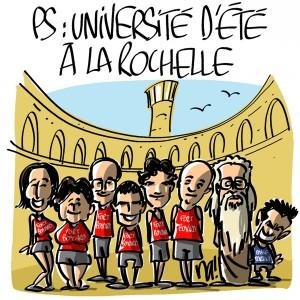 Nactualités : PS, université d'été à La Rochelle