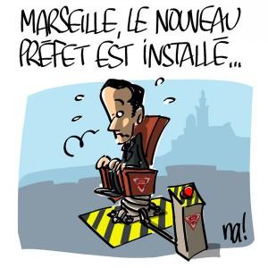 Nactualités : Marseille, le nouveau préfet est installé…