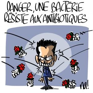 Nactualités : danger, une bactérie résiste aux antibiotiques