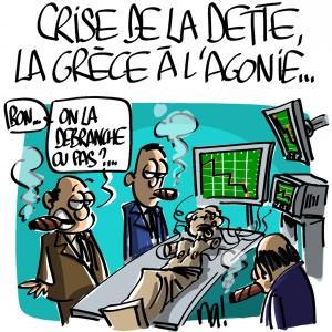 Nactualités : crise de la dette, la Grèce à l'agonie…