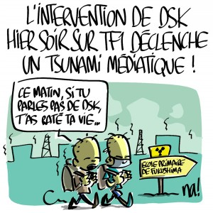 Nactualités : L'intervention de DSK hier soir sur TF1 déclenche un tsunami médiatique